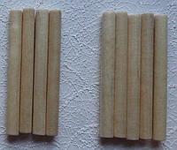 Деревянные палочки круглые, 8 мм