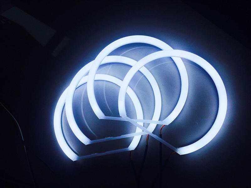 Ангельские глазки (2*146 + 2*131 мм) LED для BMW E46 без линз