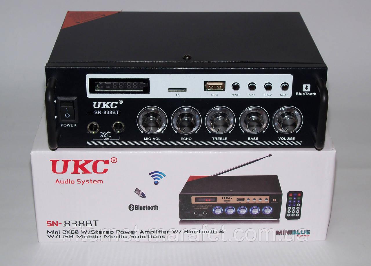 Усилитель UKC SN-838 BT