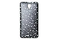 Nomi Силиконовый чехол-бампер для телефона Nomi (Номи) i4510 BEAT M Звезды