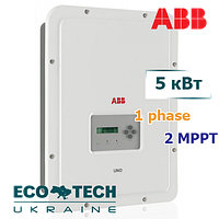 Солнечный сетевой инвертор ABB UNO-DM-5.0-TL-PLUS-B (5 кВт, 1 фаза, 2 трекера)