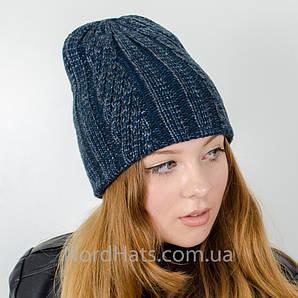 """Женская шапка, LaVisio, """"Рита""""(джинс-синий)"""