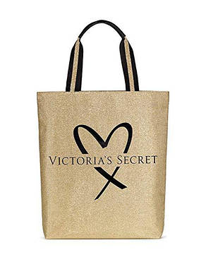 Victoria's Secret сумка золотистая оригинал