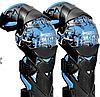 Синие Мото наколенники шарнирные GHOST Racing Scoyco (копия), фото 3