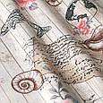 Ткань для штор в морская тематика тефлон скидка, фото 2