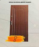 АКЦИЯ Входные двери бронируваные в частный дом БЕСПЛАТНАЯ ДОСТАВКА, двери входные 1,20 на 2,05, фото 2