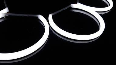 Ангельські очки (4*131 мм) LED для BMW E39, фото 3