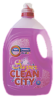 """Гель для стирки """"Clean City Super"""" (3 л.) колор"""