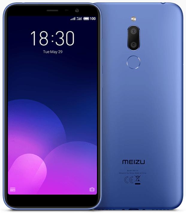"Meizu M6t Blue 3/32 Gb, 5.7"", MT6750, 3G, 4G"