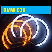 Ангельські очки (4*131 мм) LED для BMW E36