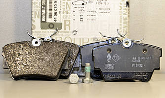 Дискові гальмівні колодки (задні) на Renault Trafic II 2001->2014 - Renault (Оригінал) - 440607091R