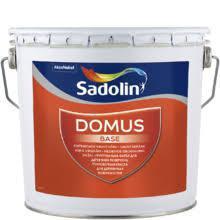 Масляно-алкидная грунтовочная краска для деревянных поверхностей DOMUS BASE, белый, 10 л.