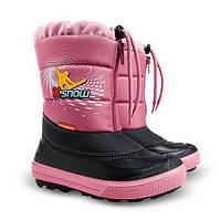 Теплые зимние сапоги для девочки Demar 30-31р - 20см;