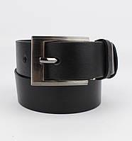 Подростковый кожаный классический ремень Red Line 05008-1 черный 30 мм