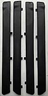 Батоны дверные накладки черные Lada ВАЗ 2101-07 пластиковые (4шт)