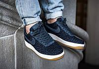 Оригинальные мужские кроссовки Nike Air Force 1  07 Indigo