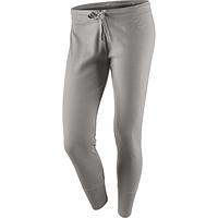 Леггинсы спортивные женские nike AD Jersey 481180 082 (серые, хлопок, повседневные, фитнес, логотип найк), фото 1