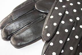 Женские кожаные перчатки  402, фото 3