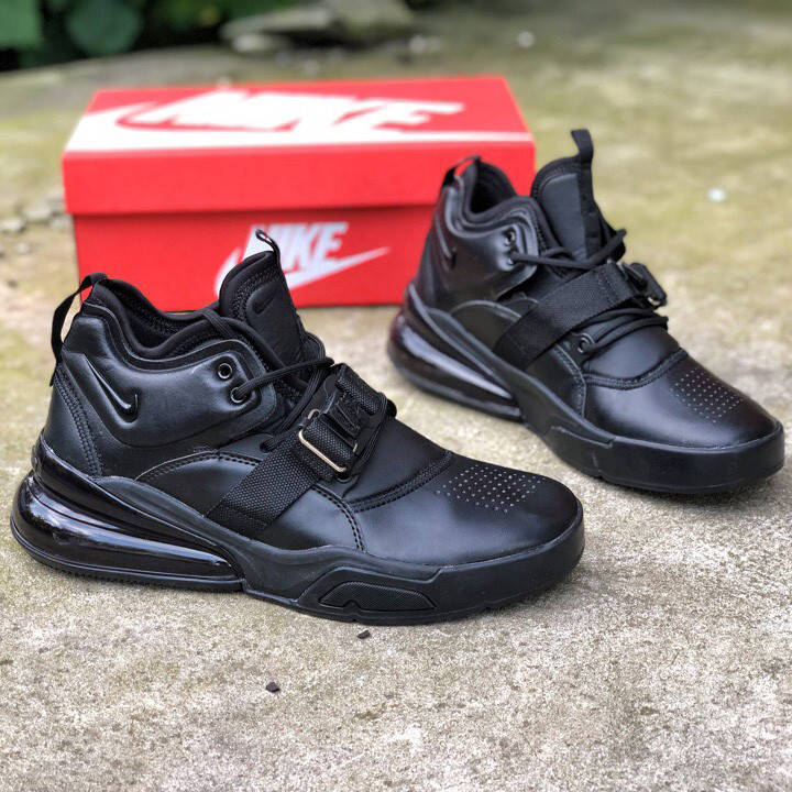 Nike Air Force 270 Triple Black (реплика)