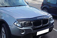 BMW Х3 Дефлектор капота мухобойка на для BMW БМВ Х3 (Е83) 2003-