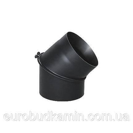 Колено для дымохода универсальное регулированое 45° Ø120