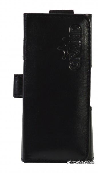 Grand Premium чехол на пояс для Nokia 220 Black ( универсальный карман 115х25х55 мм )