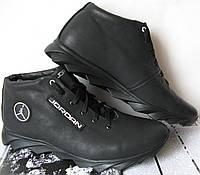 Jordan зимние реплика кроссовки Мужские кроссовки натуральная кожа обувь мех, фото 1