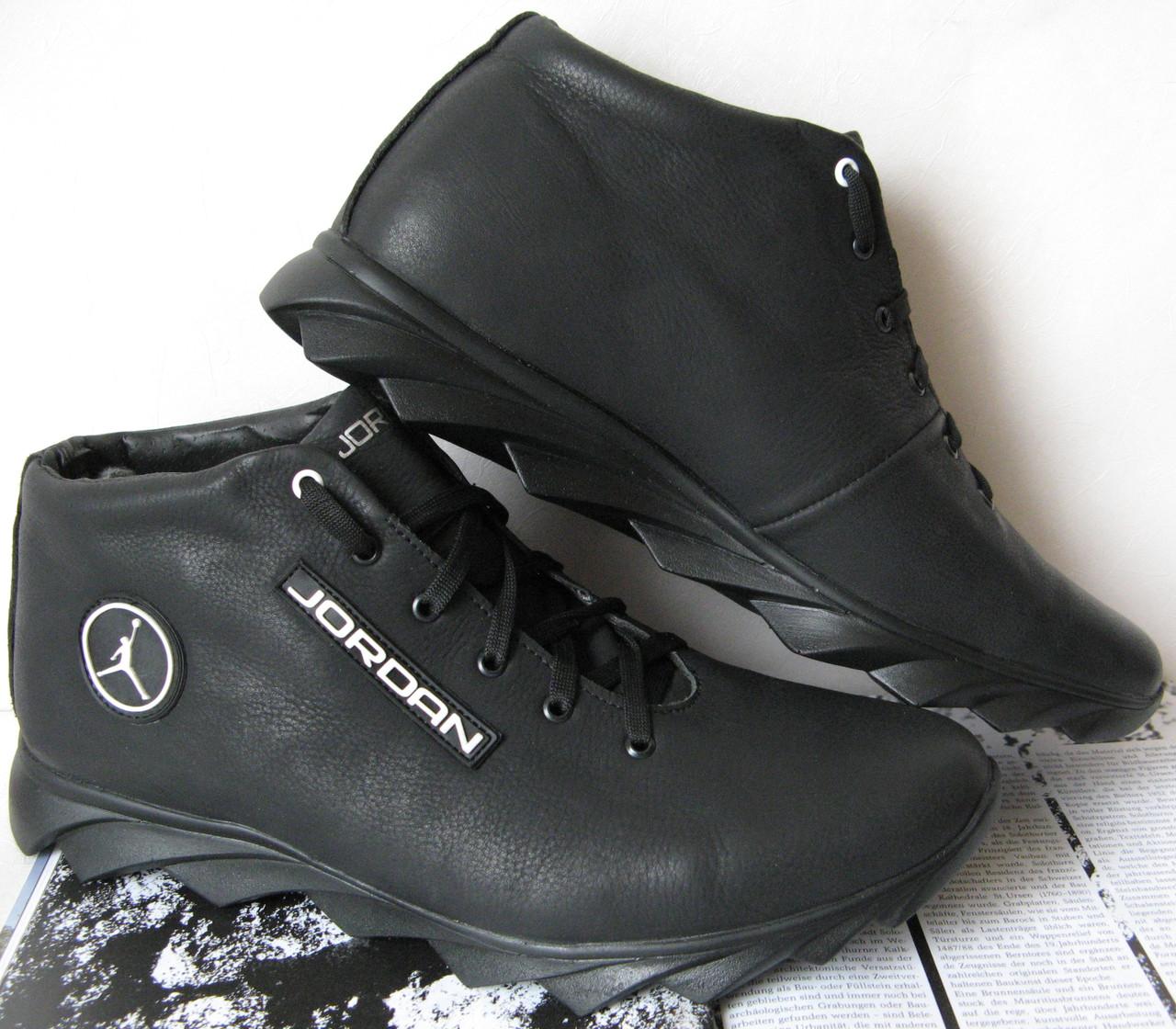 d04945a2 Jordan зимние реплика кроссовки Мужские кроссовки натуральная кожа обувь мех  - LIMODA.COM.UA