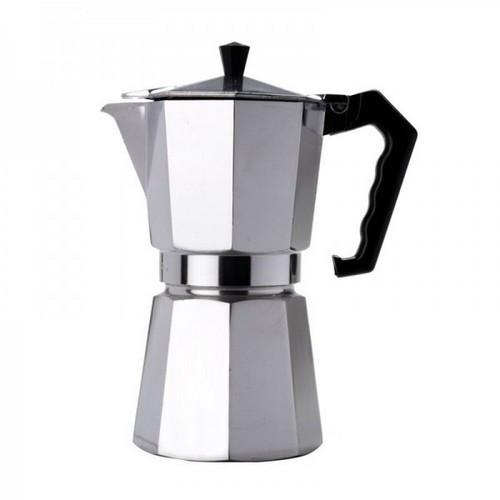 Гейзерная кофеварка UNIQUE 1912 300 мл алюминиевая на 6 чашек (6*50 мл)
