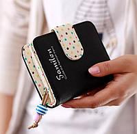 Оригинальный женский кошелек, черный, фото 1