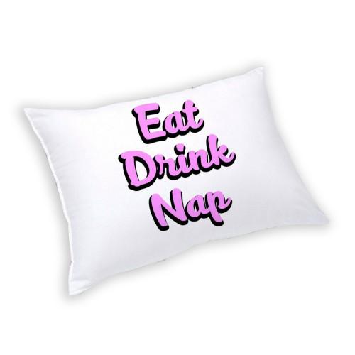 Подушка прямоугольная декоративная ARTY EAT DRINK NAP