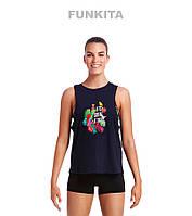 Распродажа! Женская майка для занятий спортом Funkita Tropic Tag FKA008L