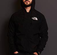 Ветровка мужская черная непромокаемая модная The North Face ТNF Зе Норс Фейс