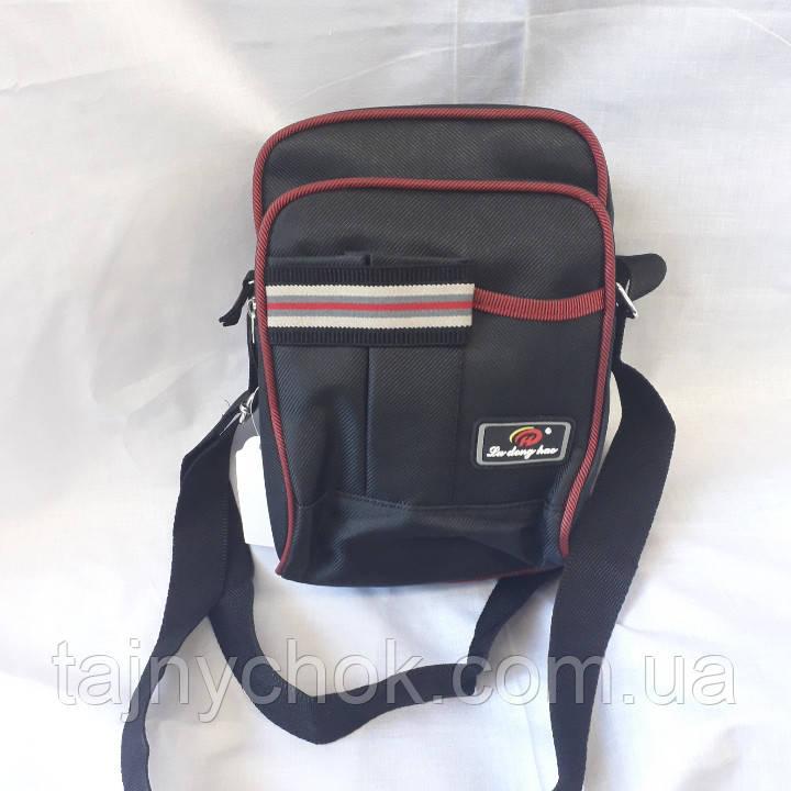 375a5d668e9b Тканевая спортивная мужская сумка черная: продажа, цена в Одессе ...