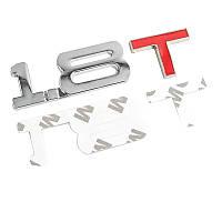 3D эмблема 1_8 T  - металл хром, фото 1