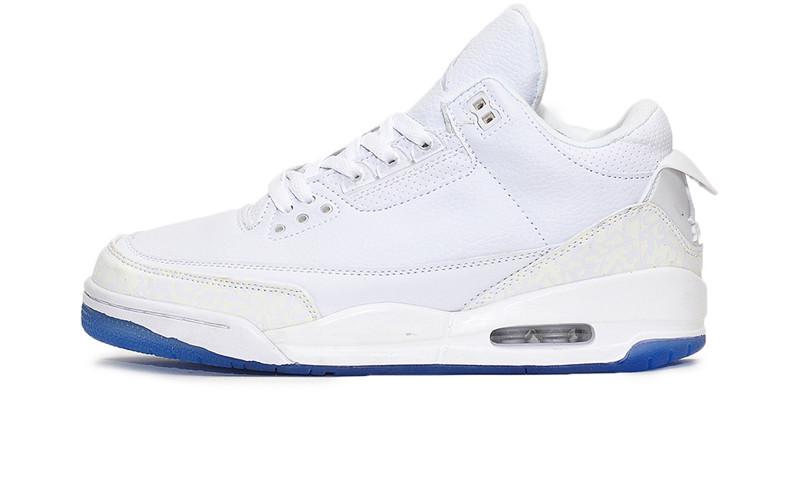 Баскетбольные кроссовки Nike Air Jordan 3 Retro White (Реплика ААА класса)  - FREE CHOICE ec1d10dba20c8