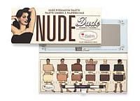 Палетка теней в стиле theBalm Nude Dude Palette
