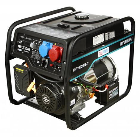 Генератор бензиновый Hyundai HHY 9020FE-T (6,5 кВт)