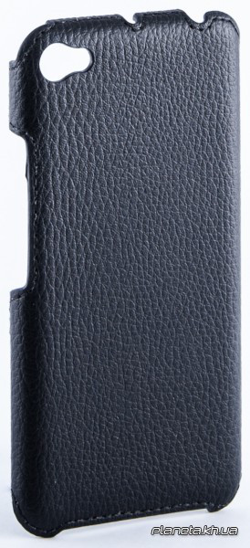 Florence флотар кожаная накладка для Lenovo S60 черная
