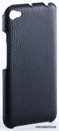 Florence флотар кожаная накладка для Lenovo S60 черная, фото 2