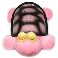 Проектор звездного неба, ночник Черепаха Кетти, розовая