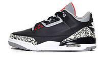 Мужские Баскетбольные кроссовки Nike Air Jordan 4 Retro Black (Реплика ААА+) 574e3d3a45b