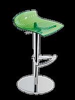 Барное кресло Papatya X-Treme B прозрачно-зеленый, фото 1
