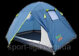 Палатка 2-х местная GreenCamp 1001-B