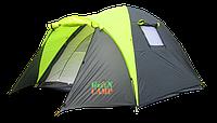 Палатка 3 местная Green Camp 2 входа туристическая с тамбуром 1011-2, фото 1