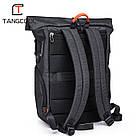 Рюкзак для ноутбука с водоотталкивающим покрытием темно-серый, фото 5