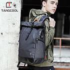 Рюкзак для ноутбука с водоотталкивающим покрытием темно-серый, фото 10