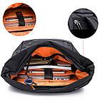 Рюкзак для ноутбука с водоотталкивающим покрытием темно-серый, фото 7