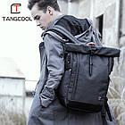 Рюкзак для ноутбука с водоотталкивающим покрытием темно-серый, фото 9