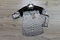 Катоновая рубашка для мальчиков. ( Турция). 10- 15 лет.